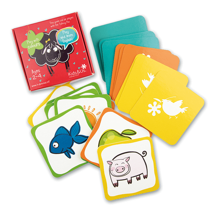 Jeu de cartes de Betty Sheep: Play with Colours